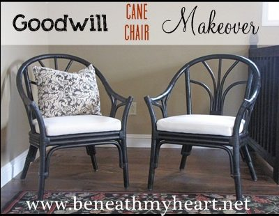 Goodwill chairs makeover