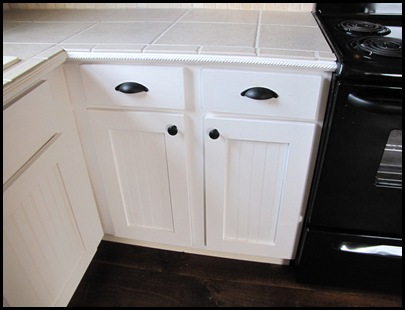 Countertops, Cabinets, and a Door