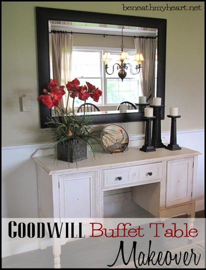 Buffet Table Re-do