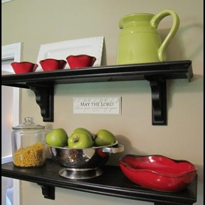 Cafe Shelf Tutorial and GIVEAWAY!