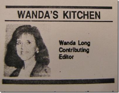 Mom's Vegetable Soup {Wednesdays with Wanda}