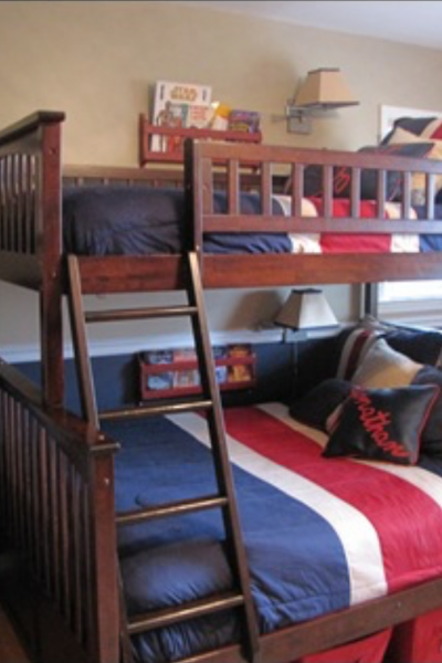 My Attempt at a Pottery Barn Boys' Room…