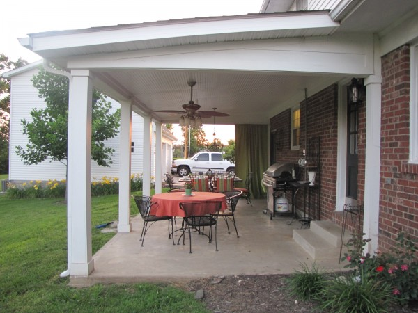 Happily Ever Before & After Week 27: Back Patio Makeover ... on Covered Back Patio Ideas id=61281