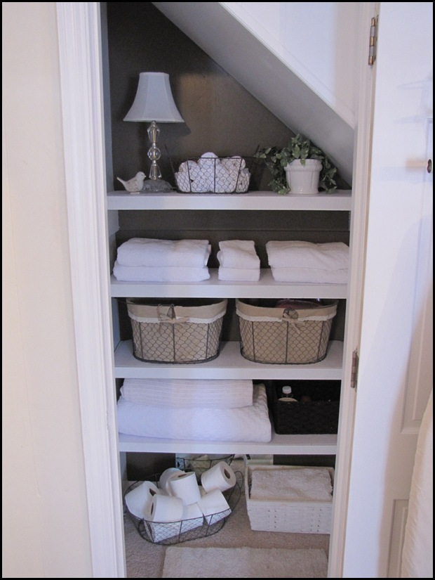 Organizing Your Heart And Home My Bathroom Closet