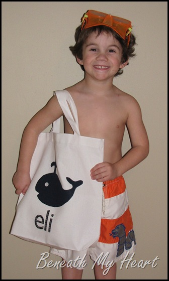 kids tote bag