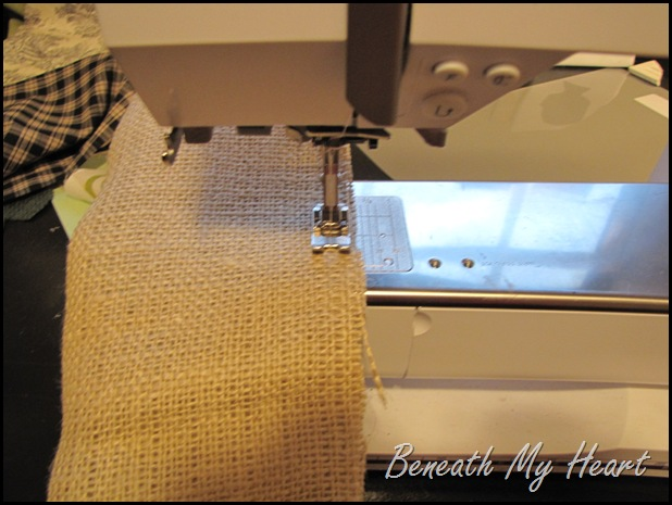 how to make a curtain tie back