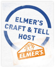 I Hosted An Elmer's Craft & Tell Party and You Can Too! {Elmer's Giveaway Packages for Two of You!}