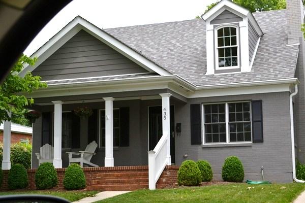 Painted Brick Homes Look