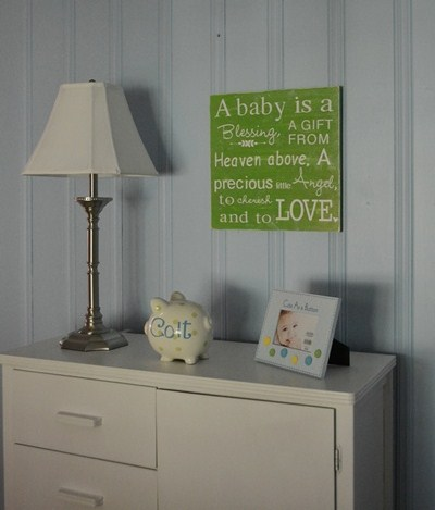 Baby Room  on Nursery Word Art