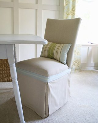 My Trip to Sarah's {Thrifty Decor Chick} for a Chair Re-do!