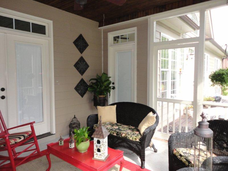 Porch Decor Inspiration {from a reader!}