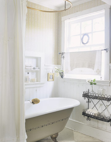 Bathroom Windows…To Cover or Not To Cover?