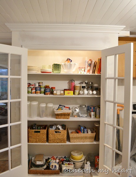 I Love My New Pantry Painting Made Easy With Wagner Power Painter Beneath My Heart