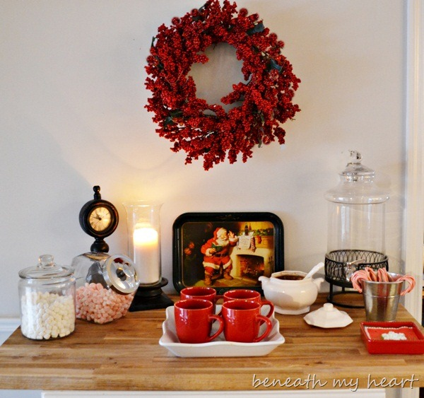 Hot Chocolate Bar {Our New Christmas Tradition}