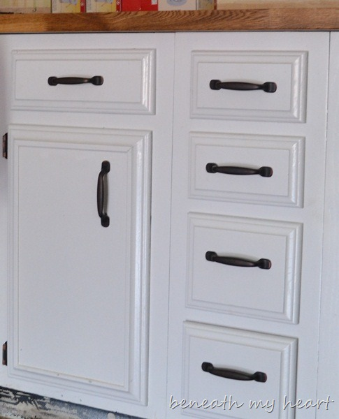 Kitchen Cabinet Upgrade New Knobs Coming Later: Kitchen Makeover Update
