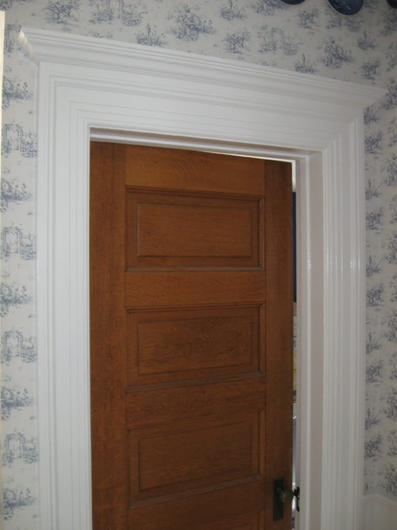 """farmhouse door - How To Add """"Old House"""" Character & Charm To Your Newer Home {Step 5"""