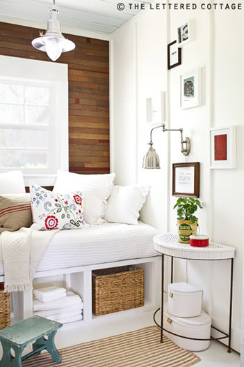 How to add old house character charm to your newer for Small guest bedroom decor ideas