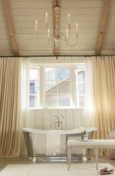 How to add old house character and charm to your newer for Adding wood beams to ceiling