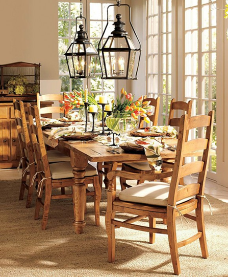 How to add old house character charm to your newer for Dining room table ornaments