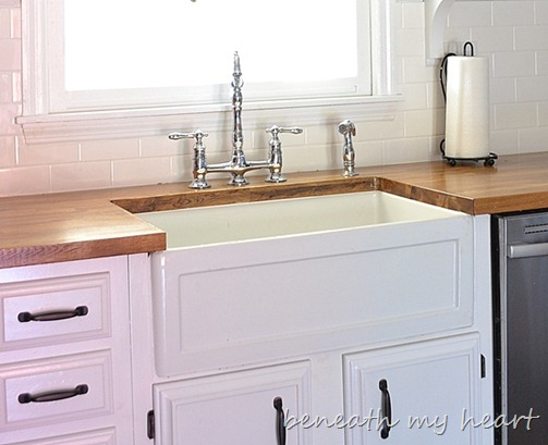 Kitchen Of The Week A Diy Ikea Country Kitchen For Two: Fireclay Farmhouse Sinks {Durability And Quality