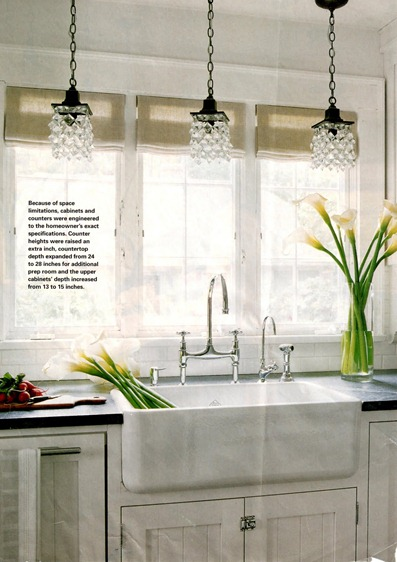 pendants over sink