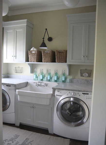 cabinets above washer dryer | o2 pilates