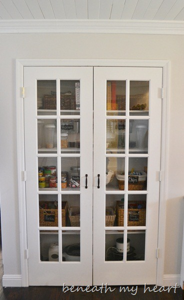 Our Organized Pantry Beneath My Heart