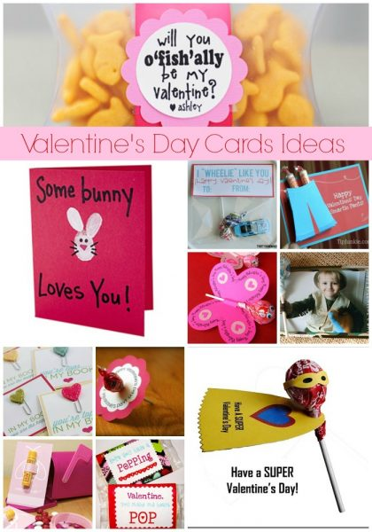 15 DIY Valentine Cards for Kids Beneath My Heart – Easy Valentine Cards for Kids