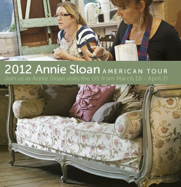 Meeting Annie Sloan in person and Learning about her amazing Chalk Paint