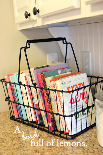 Simple Ways to Store Your Cookbooks