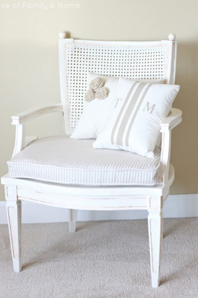 Gorgeous Cane Chair Makeover!