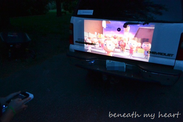 Family fun with a 3m mobile projector and a 150 target for Projector that works with iphone