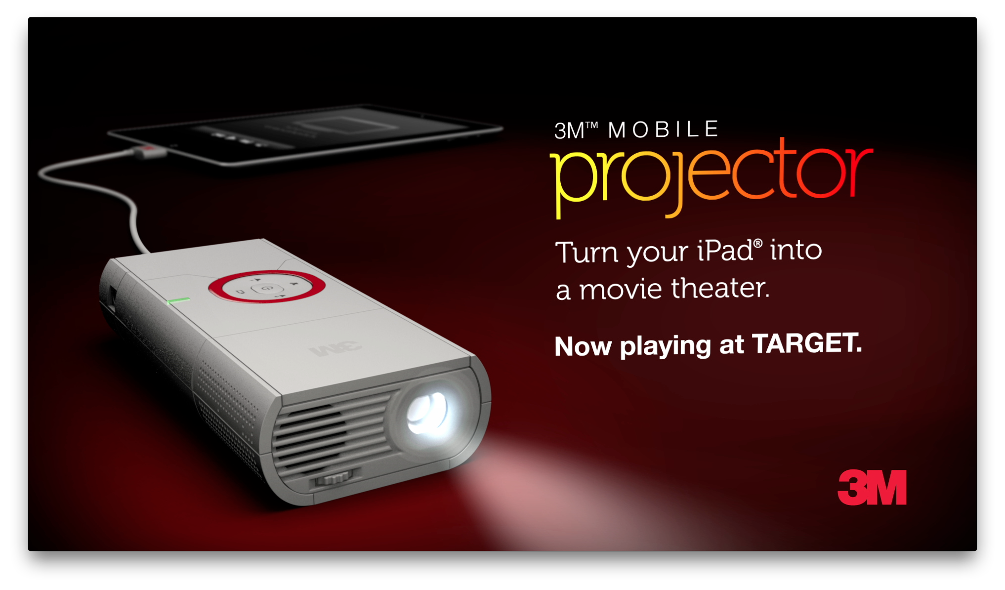 Family Fun with a 3M Mobile Projector {And a $150 Target GiftCard Giveaway!!!}