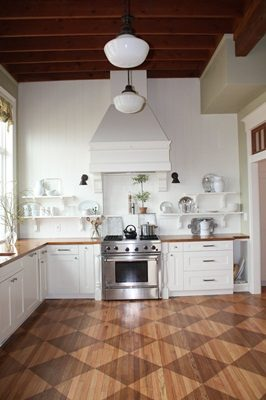"Favorite ""Pin"" Friday {Kitchen Makeover from 1912 Home}"