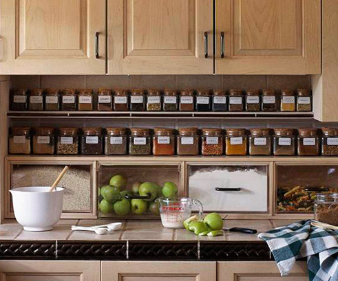 11 creative ways to store your spices beneath my heart