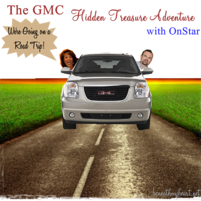 Cy and I are headed on a 5 day Road Trip with GMC and OnStar!