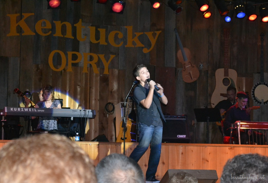 Jonathan's Performance at the Ky Opry {New Song}