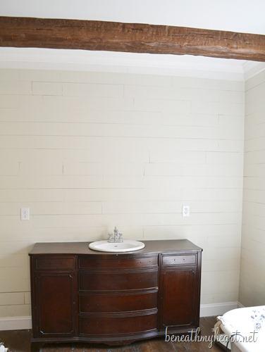 dresser turned vanity