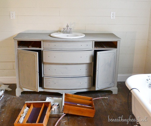 Surprising How I Painted My Vanity With Annie Sloan Chalk Paint Download Free Architecture Designs Intelgarnamadebymaigaardcom