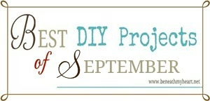 """Best DIY Projects of September"" Linky Party!"