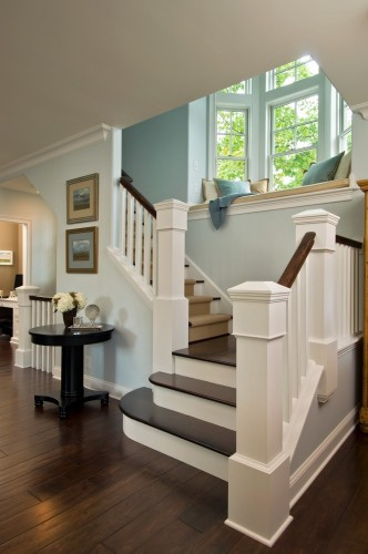 Newel Posts add Old House Character and Charm