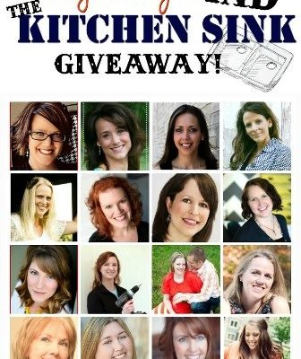 """Everything AND the Kitchen Sink"" Giveaway!"