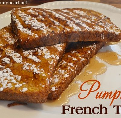 Pumpkin French Toast {and Nature Pride's Giveaway!}