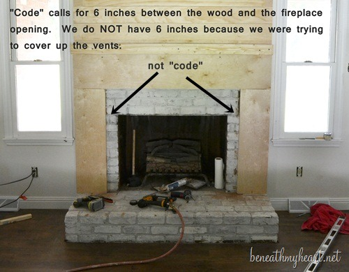 How to build a fireplace surround beneath my heart how to create a fireplace surround solutioingenieria Gallery