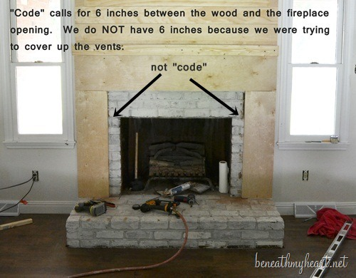 How To Build A Fireplace Surround Out Of Wood
