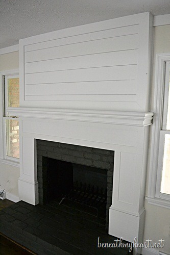 Fireplace Makeover Reveal!