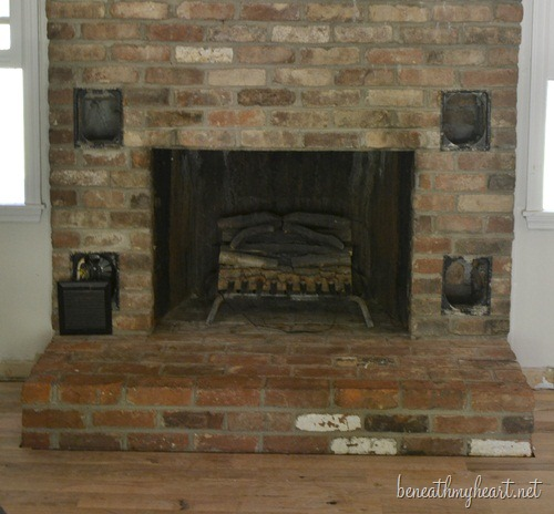 Fireplace Makeover Reveal Beneath My Heart