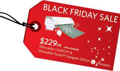 Silhouette Black Friday Sale!  {And Cameo Giveaway Winner!}