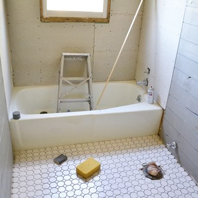 Glimpses of our Guest Bathroom Makeover