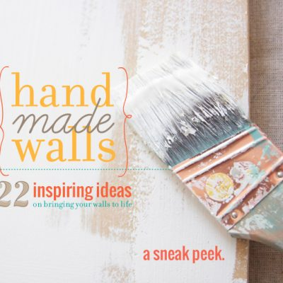 Handmade Walls {22 inspiring ideas}